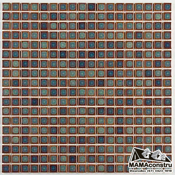 Pastilha Porcelana 1,5x1,5 Cm Atlas Sg-8407 Jade